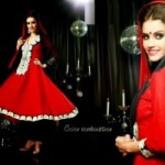 Anarkali Fashionable Garments For Females Eid Selection 2014 (6)