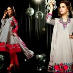 Anarkali Fashionable Garments For Females Eid Selection 2014 (9)