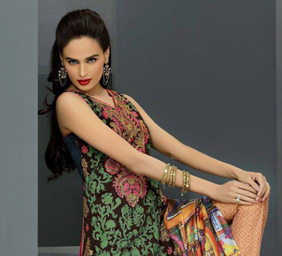 Asim Jofa Summer Lawn Dresses Fashion For Eid 2014 1