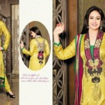 Attractive Eid Suits 2014 By Anarkali Brand For Wives (1)
