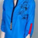 Attractive & Vibrant Mid of Summer Kurti Wear Outfits Concepts for Girls (5)