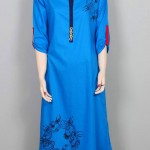 Attractive & Vibrant Mid of Summer Kurti Wear Outfits Concepts for Girls (7)