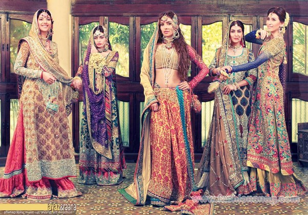 Attractive Wedding Ceremony + Occasion Outfits 2014 Via Nomi Ansari (6)