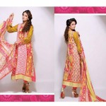Bazzaaz lawn dresses collection 2014 1