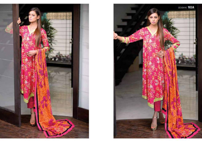 Bazzaaz lawn dresses collection 2014 2