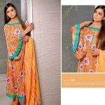 Bazzaaz lawn dresses collection 2014 3