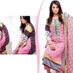 Bazzaaz lawn dresses collection 2014 5