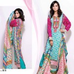 Bazzaaz lawn dresses collection 2014 9