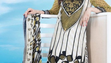Dawood Lawns Summer Dresses Collection vol 5 - 2014 7