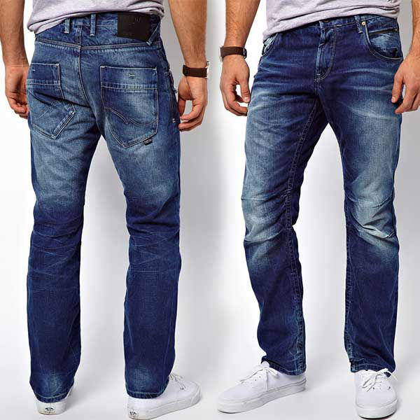 Denim Blue Jeans for Adult Males Summer Months Particular Package 2014 (3)