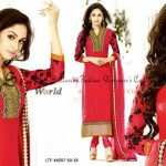 Eid Celebration Garments Selections by Bollywood Fashionable Set 2014 (1)