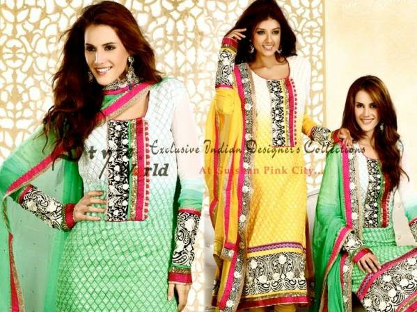 Eid Celebration Suites Selections by Bollywood Fashionable Set 2014