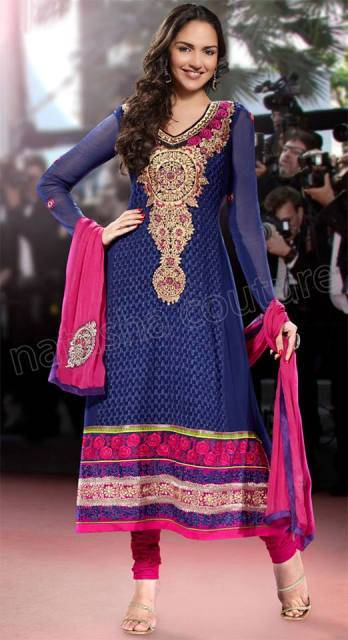 Esha Deol Events Fancy Suits For Ladies (9)