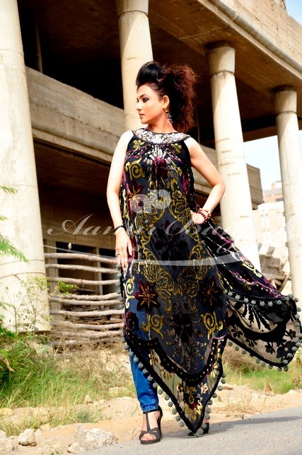 European Outfits Designs 2014 By Aamir Baig (7)