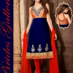 Fancy Ready Made Suite Dresses Fashion 2014 for Young Ladies (3)