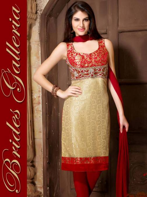 Fancy Ready Made Suite Dresses Fashion 2014 for Young Ladies (4)