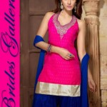 Fancy Ready Made Suite Dresses Fashion 2014 for Young Ladies (9)