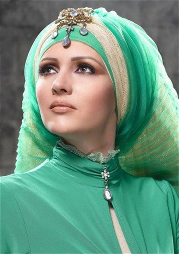 Fashionable Jilbab Marriage Ceremony Designs (3)