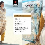 Fashionable Stitched Lawn Set 2014 For Eid Event By Dicha (3)