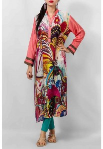 Grapes The Brand Silk Dresses Designs Collection 2014 1