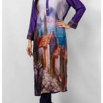 Grapes The Brand Silk Dresses Designs Collection 2014 10