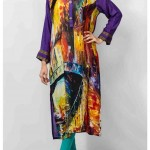 Grapes The Brand Silk Dresses Designs Collection 2014 2
