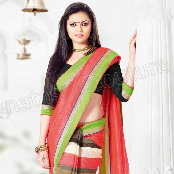 Innovative Indian Artist Bharti Saree Choice For Females (3)