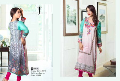 Jubilee Cloth Mills Doha Kurti Fashion 2014 1
