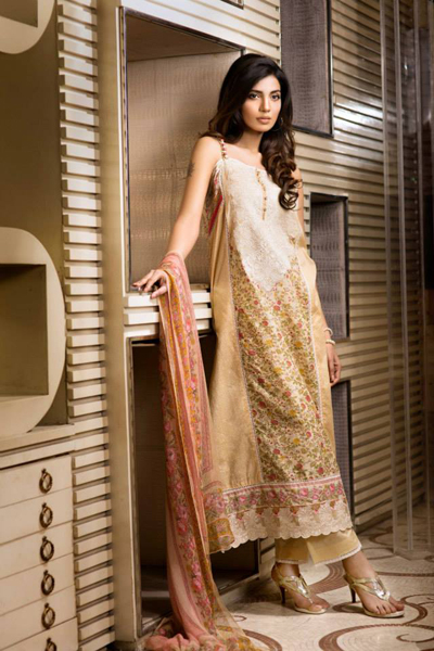 Khaadi Lawn - Eid Collection 2014 13