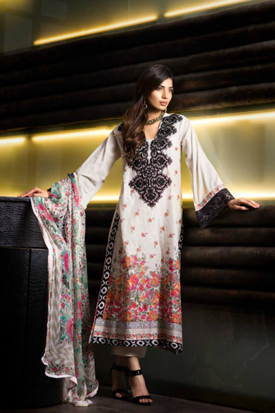 Khaadi Lawn - Eid Collection 2014 5