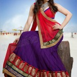 Most Up-to-Dated Trendy & Stitched Design of Lehenga Choli Outfits for Females (18)