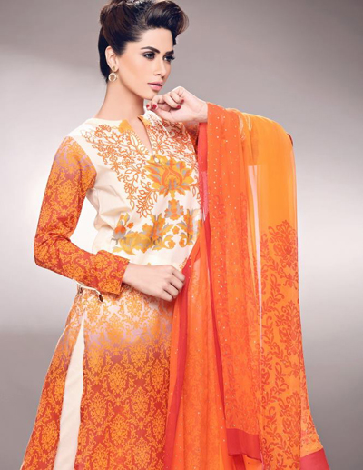 Nisha Eid Summer Lwn Dresses Collection 2014 1