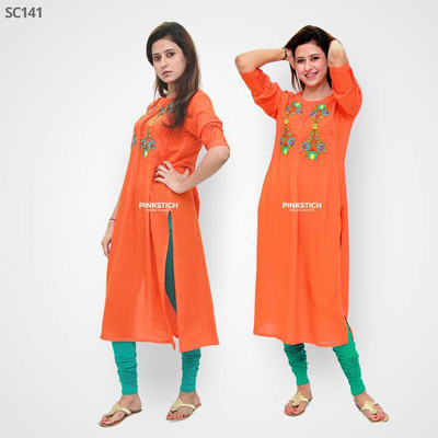 Pinkstich New Summer Kurta Dresses Fashion2014 1