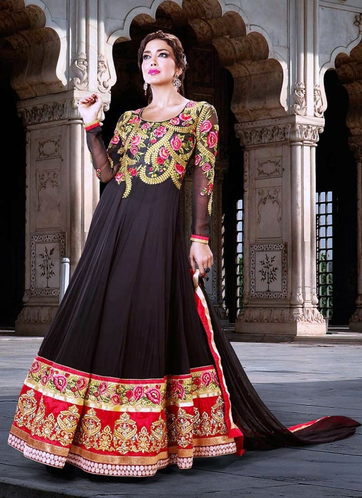 Specialized Marriage Dresses Anarkali Frocks Fashion Styles For Beauties 2014 (6)