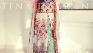 Tena Durrani Bridal Wear Dresses Collection 2014 1