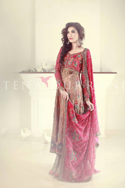Tena Durrani Bridal Wear Dresses Collection 2014
