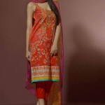 Umar Sayeed Eid Prints Lawn Dresses Collection 2014 10