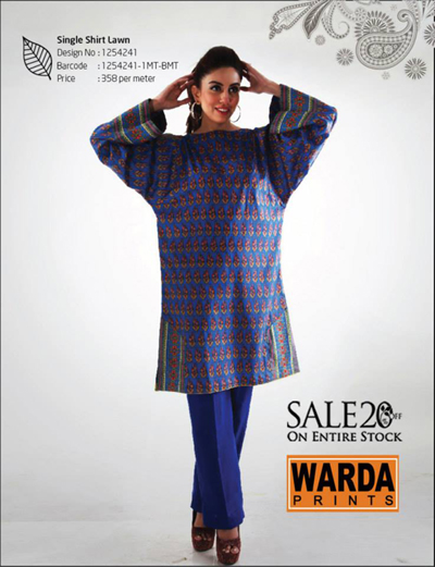 Warda designer collection 2014