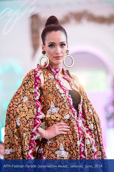 AFH Show - Fashion Parade, London. June, 2014