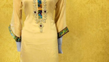 Al Karim Exclusive Kurti Colllection 2014 4