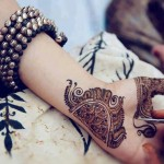 Amazing Eid Occasion Henna Fashions 2014 for Young Girls (2)