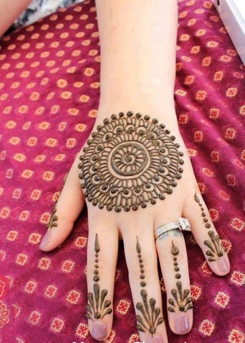 Amazing Eid Occasion Henna Fashions 2014 for Young Girls (5)