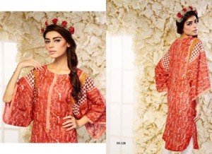Bashir Ahmad Printed & Embroidered SINGLE SHIRT VOL 2 11