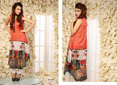 Bashir Ahmad Printed & Embroidered SINGLE SHIRT VOL 2 13