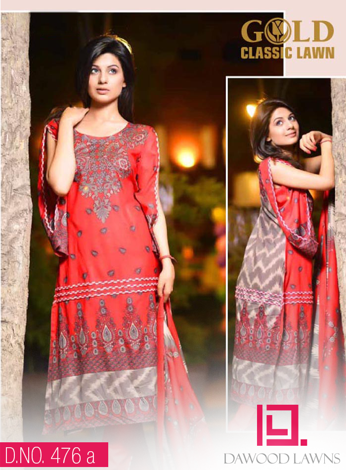 DAWOOD GOLD LAWN VOL. 3  Collection 2014 30