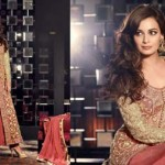 Diya Mirza New Party Wear Dresses Colleciton 2014 3