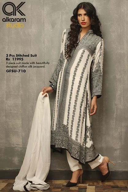 Elegant Compilation of Alkaram Eid Apparel 2014 (1)