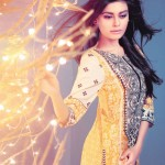 Ethnic by outfitters Eid Dresses collection 2014 4