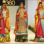 Famous Best Coloration Mehndi Attire 2014 (2)