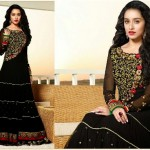 Fantastic Indian Shraddha Kapoor's Brides Trends  Anarkali Fashion 2014 (2)